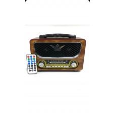 radyo Everton Rt-805 Bluetoothlu Müzik Kutusu Radyo Usb Sdaux Mp3 Player